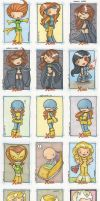 x-men archives 2 by katiecandraw