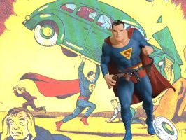 The Superman of 1938 by honestgeorge