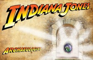 business card : Indiana Jones 2014 by darshan2good