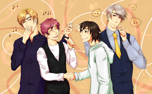 Gravitation x Junjou romantica by swifteh1234