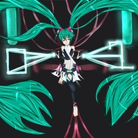 Miku Append version by BowsNBears