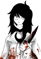 Jeff the killer by brittanyduoser