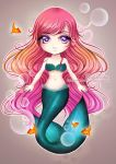 Chibi Mermaid by Shalicious