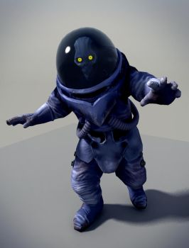 A Space Kook Close-Up by AdmiralJCB