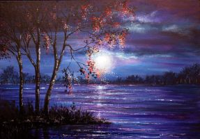 Moonlight Waters by AnnMarieBone