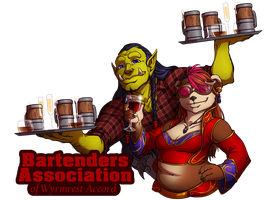 Bartenders Association of Wrymrest Accord by artofcarmen