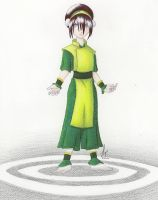 Toph - in color by kaligargoyle