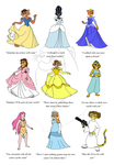 LKHFF Princesses Poster by BennytheBeast