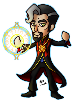 Animal Crossing Inspired Doctor Strange by psycrowe