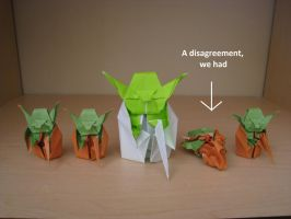 Origami Yoda Beginnings by acexpression