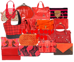 16 Red Bags PNG by JEricaM