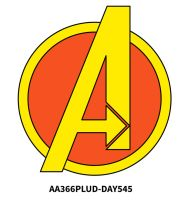 Aa366plus 2015-09-15 Day545 Avengers by AA366PLUS