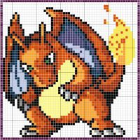 Charizard Pattern by takocos
