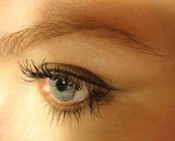 Eye Study: Side View by PeacefulSeraph