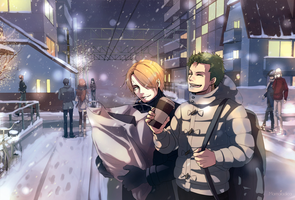 First snow by Marmaladica