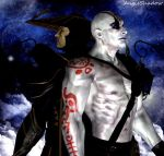 Thunder God and The Sorcerer by AngShadow