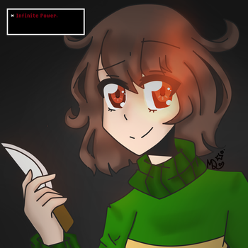Chara - Infinite Power. by MangoDoodles