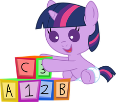 Baby Twilight Sparkle's Play Time by Mighty355