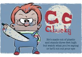 C is for Chucky by Ape74