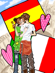 APH: I'm Yours--You're Mine by milei