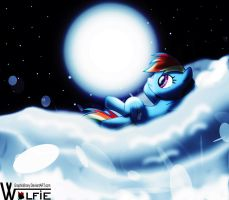 RainBow Dash's Dream by GraphicBrony