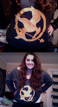 Mockingjay Sweatshirt by leesuhhjayy