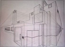 Two Point Perspective by brianhaddad