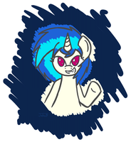 Ignore the Borders - Vinyl Scratch by Nephrited