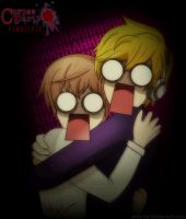 Pewdie Plays Corpse Party! by ArtArtzy