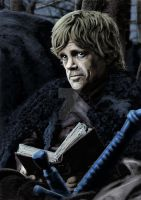 Peter Dinklage as Tyrion Lannister by TheArtofScott
