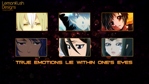 Anime Wallpaper Emotion by LemonKush