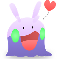 Goomy Love by CobaltTheDragon