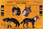 Ahote and Adahy_Character sheet by Aquene-lupetta