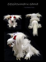 Sesshomaru Plushie by WhittyKitty