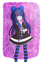 Anarchy Stocking by dinosauriomutante