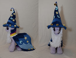 Nightmare Night Contest - Twilight as Star Swirl by makeshiftwings30