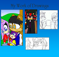 My drawings i'm working by VioletHybrid