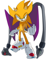 Tobias The Hedgehog-06 Style by Absolhunter251