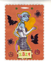 OLD: Halloween Badge for 2319 by beefyrae