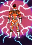 Mighty Morphin Power Rangers Zeo (Orange Ranger) by blueliberty