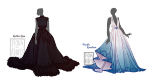 [open 1/2] Outfit Adopt - Ballgowns - UPDATED by fionadoesadopts