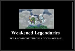 Weakened Legends Meme