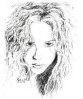Shakira by The-Only-Myself