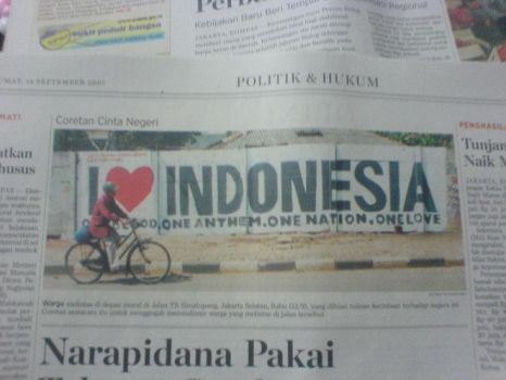 i love indonesia by ashtwo by ashtwoforever