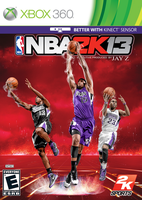 Custom NBA 2K13 cover Kings by chronoxiong