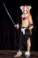 Ichigo Full Hollow Cosplay by andycamcosplay