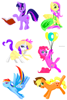 The Mane Cast on Flockdraw by CallMeDoc