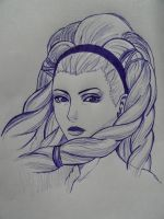 Tutorial, Shiva [ had no pencil, sorry :(  ] by Kittylyn-Donut