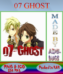 07 Ghost - Anime icon by azmi-bugs