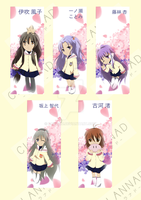 Clannad Bookmark by Daiyaku